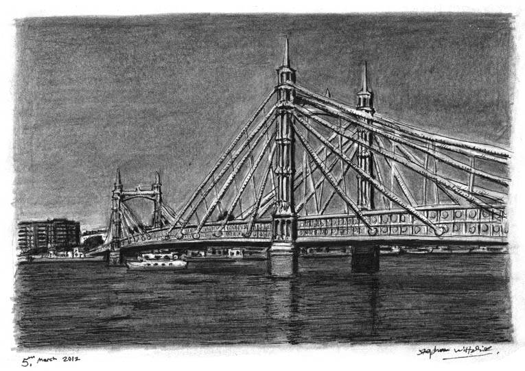 stephen-wiltshire-05_London-Albert-Bridge