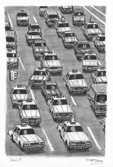 stephen-wiltshire-13_New-York-Taxi