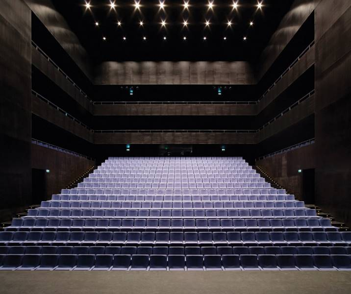 Auditorium Aguilas by EBV