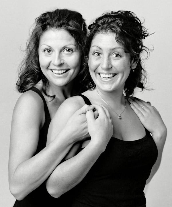 Фотография двойников №1 (фотограф François Brunelle)