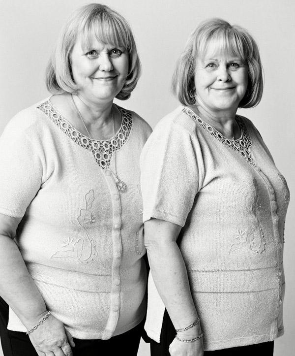 Фотография двойников №5 (фотограф François  Brunelle)