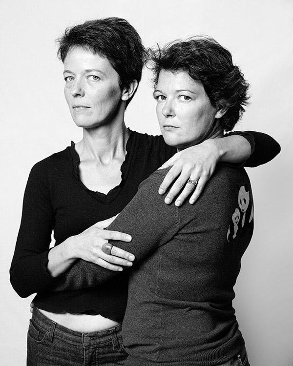 Фотография двойников - 13 (фотограф François  Brunelle)